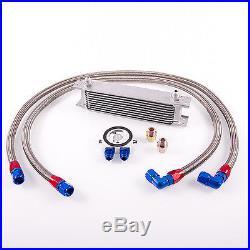 10 chaîne Radiateur d'HUILE Kit d'adaptation (TIRET 8, longueur 110/130cm)