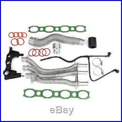 10 pièces Tuyau de Liquide de Refroidissement Pour Porsche Cayenne 03-06 4,5 V8