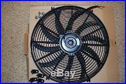 16 Mince Universel Ventilateur de Refroidissement Radiateur Électrique