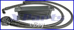 16 Reihen Ölkühler inkl. Anschluss Kit VW GOLF 1 2 3 4 5 6 GTI 16V G60 TURBO