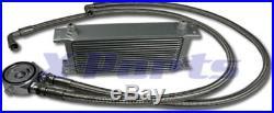 16 chaîne Radiateur d'HUILE incl. CONNEXION Kit VW GOLF 1 2 3 4 5 6 GTI 16V