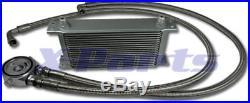 19 rangées Radiateur incl. CONNEXION Kit VW GOLF 1 2 3 4 5 6 GTI 16V G60 Turbo