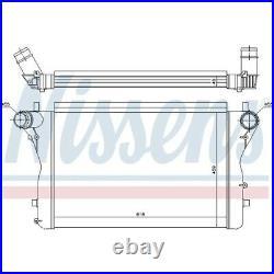 1 Intercooler, échangeur NISSENS 96420 convient à AUDI
