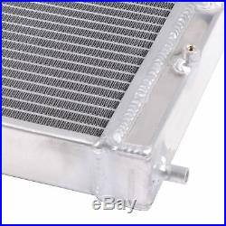 2Row Radiateur + Ventilateur pour 1992-2000 Honda Civic Eg Ek Del Sol CRX 1993