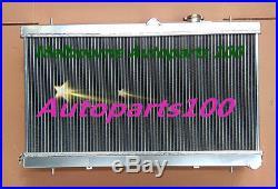 2 ROW ALLOY Radiateur radiator for 2002-2007 SUBARU IMPREZA WRX STI GDB GD8 GD