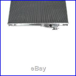 2row 52mm Aluminium Radiateur Pour 1993-1998 Toyota Supra JZA80 2JZ-GTE Turbo