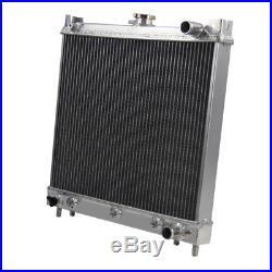 3ROW Radiateur Aluminium pour Suzuki Jimny SN413 Berline Essence 1998-2018 à /