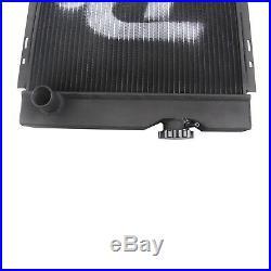 3Row Coeur Radiateur Aluminium pour Ford Mustang Ranchero V8 Moteur Changement