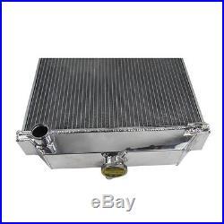 3Row radiateur en aluminium pour Jaguar MK7 MK8 MK9 1959-1961