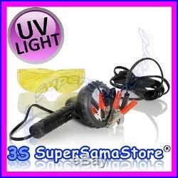3S LAMPE UV U/V 100 W Alimentation 12 V DC bornes batterie voiture TRACEUR R134A