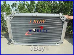 3 ROW Nissan Patrol GQ SAFARI 2.8 3.0 & 4.2LT Diesel Y60 radiateur en aluminium