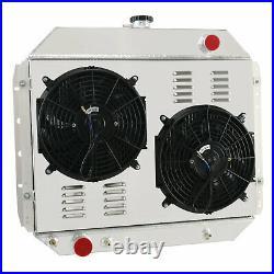 3 Rangée Radiateur+Ventilateur Pour Ford F100/F150/F250/F350 Bronco V8 1966-1979
