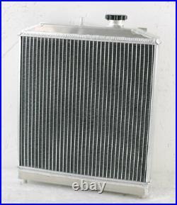 3 Rangée Radiateur+Ventilateur+Relay Pour Honda Civic EK EG 1992-00 CRX Del Sol