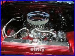 3 Rangées Alu Radiateur Pour Chevy Impala Bel Air Chevelle El Camino 1963-1968