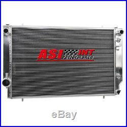 3 Rangées Aluminium Courses Radiateur Pour JAGUAR XJS V12 Up To 87 Model