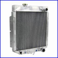 3 Rangées Radiateur Aluminium pour 1964-1966 Ford Mustang V8 289 302 Auto /