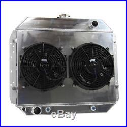 3 Row Aluminium Radiateur Ventilateur Pour Ford F100 F150 F250 F350 V8 1966-1979
