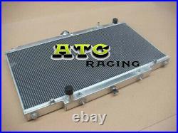 3 Row radiateur en aluminium Nissan GU PATROL Y61 TD 4.2L automatique