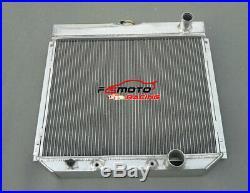 3 rangées pour Ford Fairlane 1963-1969 radiateur en aluminium Ford Mustang