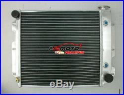 3 rangées pour Jeep Wrangler TJ YJ V8 conversion radiateur en aluminium 1997-02