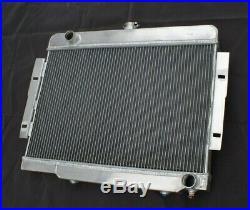 3row Radiateur Aluminium pour 1972-1983 Jeep Cj5 1976-1986 Cj7 3.8 4.2 5.0