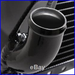 40mm HIGH FLOW NOIR ALLIAGE RACE RADIATEUR RAD POUR FIAT COUPE 2.0 20V TURBO 96