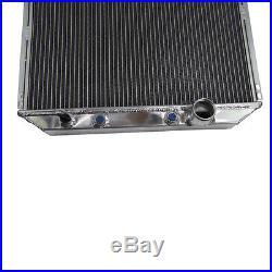 4ROW 62mm Radiateur Aluminium pour 1967-1970 Ford Mustang/Mercury