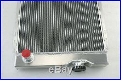 4 Row Radiateur+Ventilateur+Relais Pour 63-66 Ford Falcon Mustang Mercury Comet