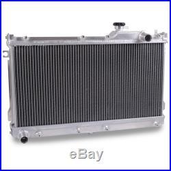 50mm Alliage D'aluminium Bipolaire Radiateur Rad Pour Mazda Mx5 1.6 1.8 90-97