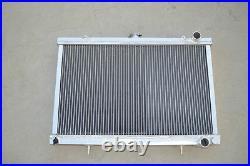 52MM Aluminum Radiator for NISSAN SKYLINE S13 CA18 R32 RB20 GTS GTR 1989-1993