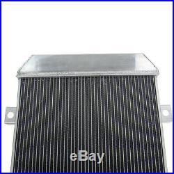 52MM Radiateur Aluminium pour 1962-1967 Jaguar MK2 Daimler 2.5 V8 V8-250 MT 1962