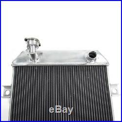 52MM Radiateur Aluminium pour 1962-1967 Jaguar MK2 Daimler 2.5 V8 V8-250 Manuel