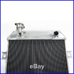 52mm Aluminium Radiateur pour Jaguar Mark 2 MK2 1962-1967 Daimler 2.5 V8 250 MT