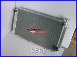 52mm Radiateur en aluminium à de pour de l'essence Nissan GQ Patrol Y60 4.2L MT