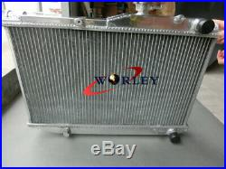52mm pour radiateur en aluminium Toyota Corolla AE86 4AGE GTS 1983-1987 84 85 86