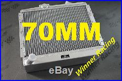 70mm extrême fraîcheur aluminum radiateur Renault Super 5/R9/R11 GT turbo 85-93