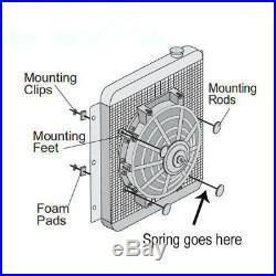 9 Mince Universel Ventilateur de Refroidissement Radiateur Électrique ASI