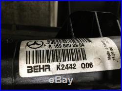 A1698203642 Forfait Frais Système de Refroidissement Mercedes-Benz A-Class