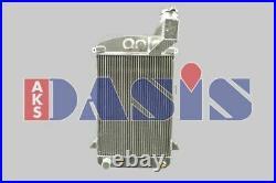 AKS DASIS Radiateur refroidissement du moteur pour TRIUMPH TR 3
