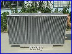 ALUMINUM RADIATOR & FAN FOR NISSAN PATROL Y61 GU 2.8/3.0 TD 4.2L diesel 97-01 AT