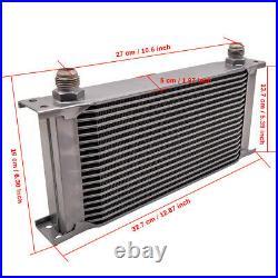 AN-10 Kit de refroidisseur d'huile moteur 13 rangées + adaptateur de filtre
