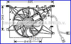 AVA COOLING SYSTEMS Ventilateur moteur VO7502 pour Volvo S80 I