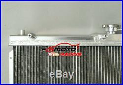 Aluminium Radiateur + FAN Pour Mazda Miata NB MX5 MX-5 1998-2005 Manual 1.6/1.8L