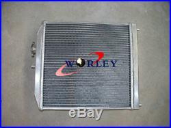 Aluminium Radiateur + Fan pour Honda CIVIC EK4/9 EG6/9 B16A B18 1.6L 92-00 32MM