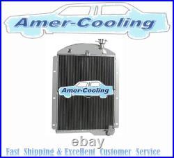 Aluminium Radiateur Pour 1941-1946 Chevrolet GMC Camion 1942 1943 1945