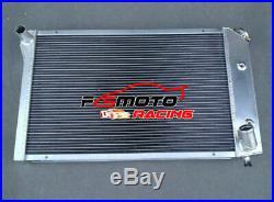 Aluminium Radiateur Pour Chevrolet Chevy Corvette C3 V8 5.0L 5.7L1977-1982 AT/MT