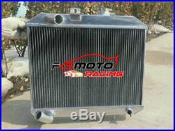 Aluminium Radiateur Pour Jeep Willys M38 CJ-2A CJ-3A MB 1941-1952 2.2L 2.4L 2.6L