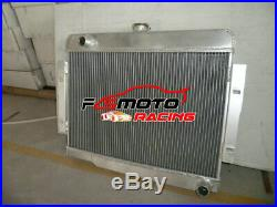 Aluminium Radiateur Pour Jeep Wrangler CJ Series CJ5 CJ7 Chevy V8 5.0L 1972-1986