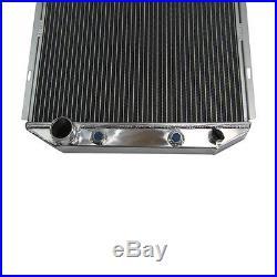 Aluminium Radiateur pour 1965 1966 FORD MUSTANG 5.0L V8 CONVERSION