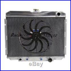 Aluminium Radiateur pour 1967-1970 FORD MUSTANG / Mercury Cougar 1968 1969 V8 +